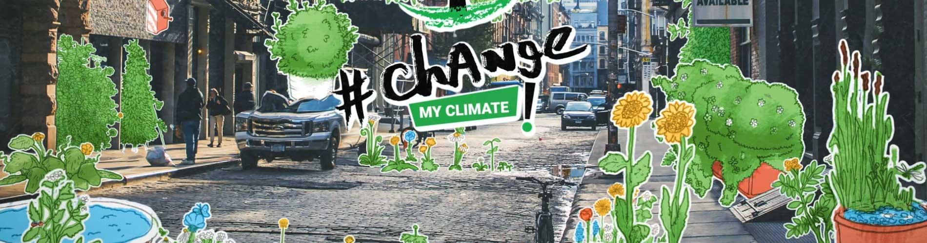 Projekt Change My Climate- #ChangeMyClimate